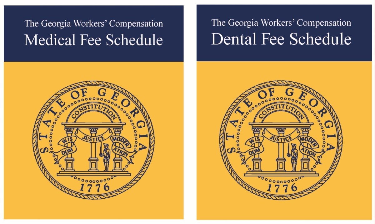2019 Georgia Workers' Compensation Medical and Dental Fee Schedules