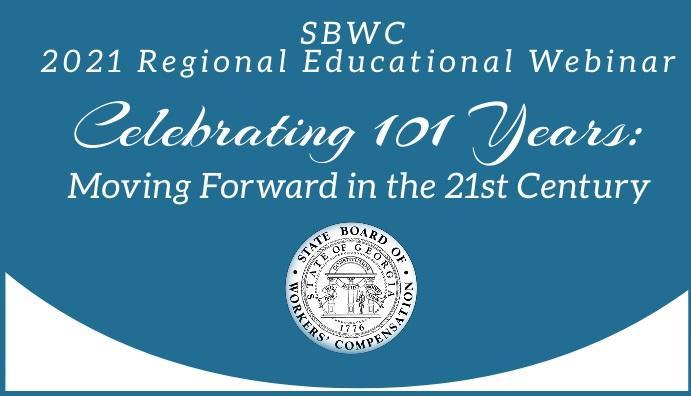 SBWC 2021 Regional Educational Webinar - Celebrating 101 Years:  Moving Forward in the 21st Century