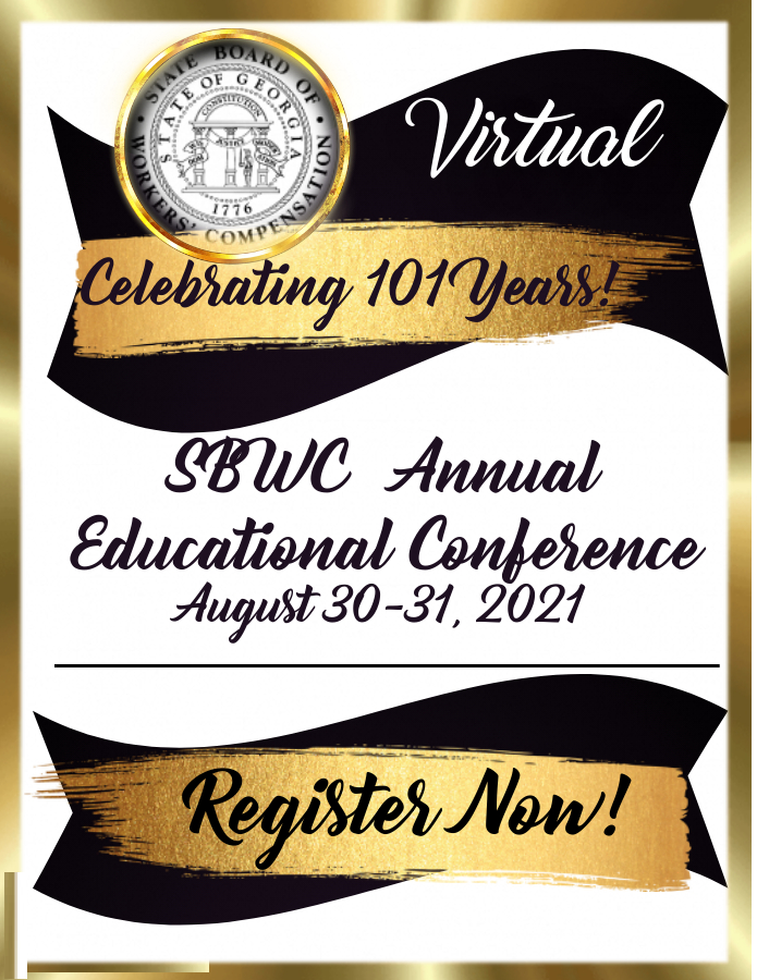 SBWC 2021 Annual Educational Conference Virtual - Celebrating 101 Years